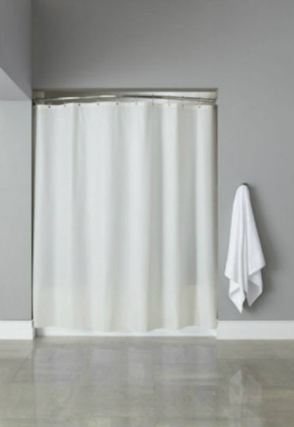 6 Gauge Vinyl Hooked Shower Curtain, 6 Gauge, Vinyl, Hooked, Shower, Curtain, hookless, focus group, bulk
