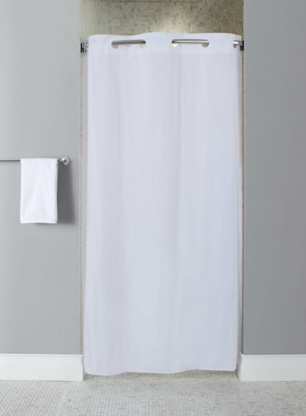 10 Gauge Vinyl Stall Hookless Shower Curtain, 10 Gauge, Vinyl, Stall, Hookless, Shower, Curtain, hookless focus group, bulk
