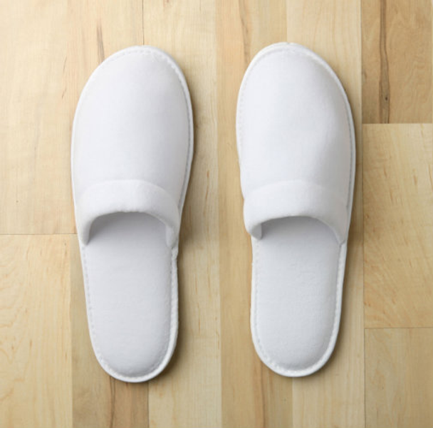 Closed Toe Plush Velour Slippers , Closed, Toe, Plush, Velour, Slippers, monarch, cypress, bulk