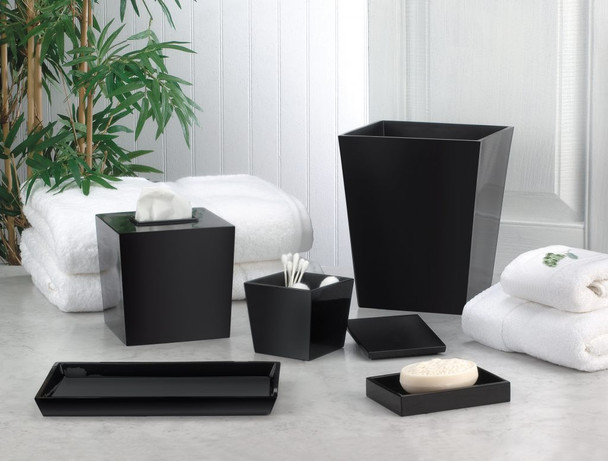 Spa Black Collection, spa, black, collection, focus, group, bath, collection, bath, amenities