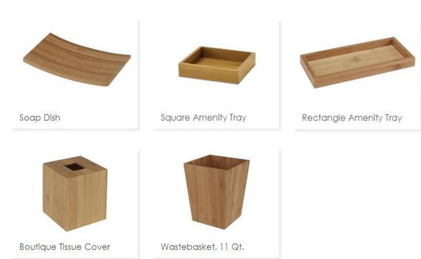 Zen Collection, zen, bamboo, white, collection, focus, group, bath, collection, bath, amenities
