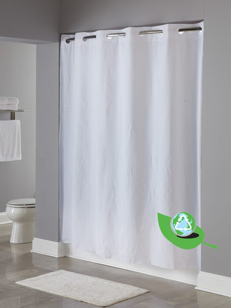 5 Gauge, PEVA,  Hookless, shower, curtain, focus, group, peva, 5 gauge