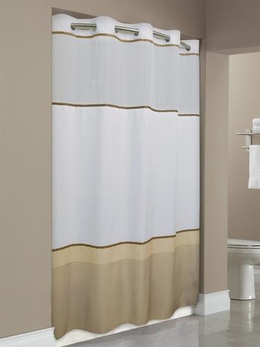 Wellington Hookless Shower Curtain Focus