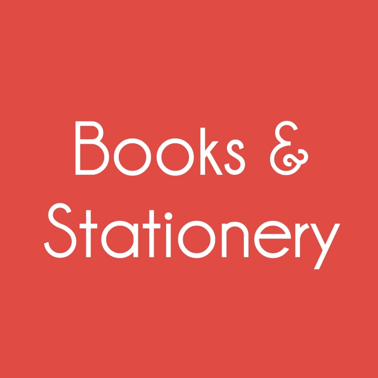 Books & Stationery
