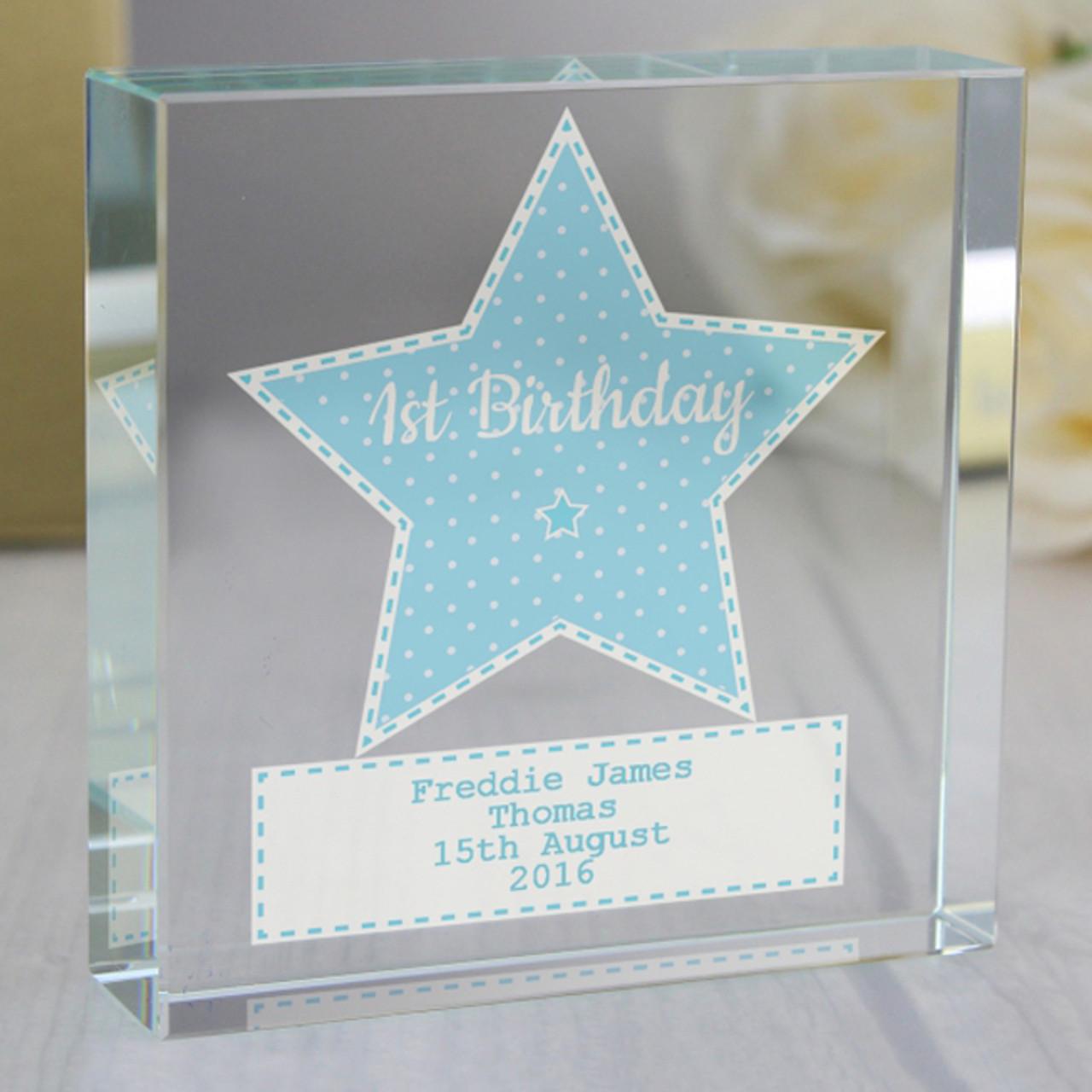 1st Birthday Keepsakes