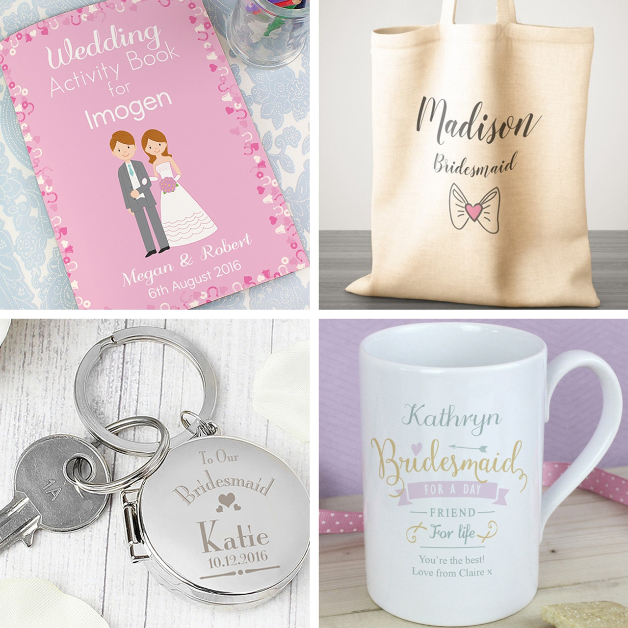 Shop All Bridesmaid & Flower Girl Gifts