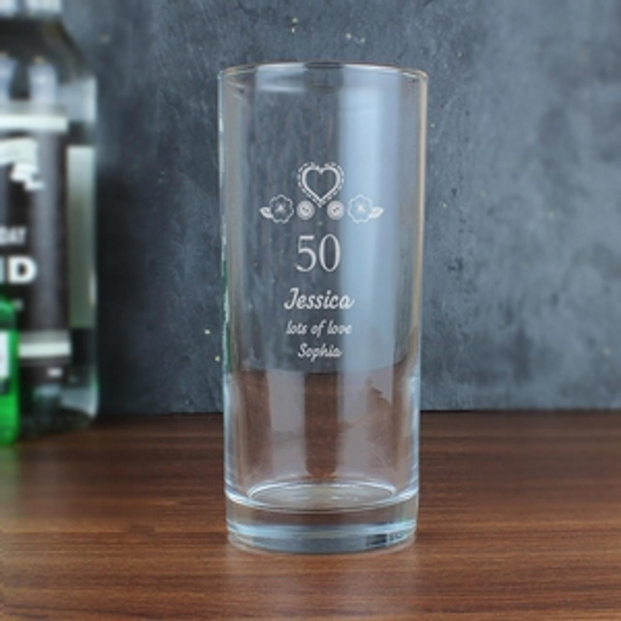 Personalised Glassware