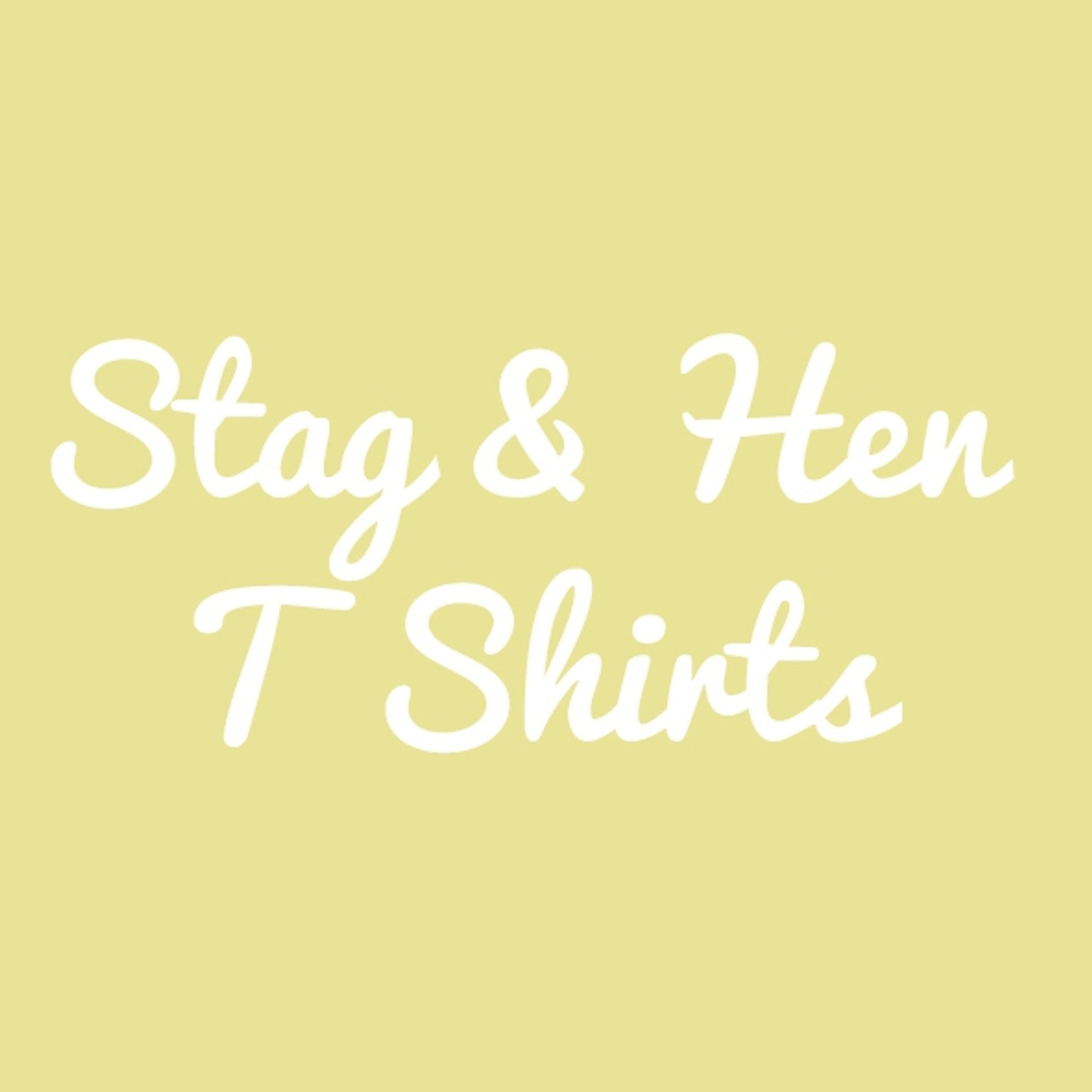 Stag & Hen T Shirts