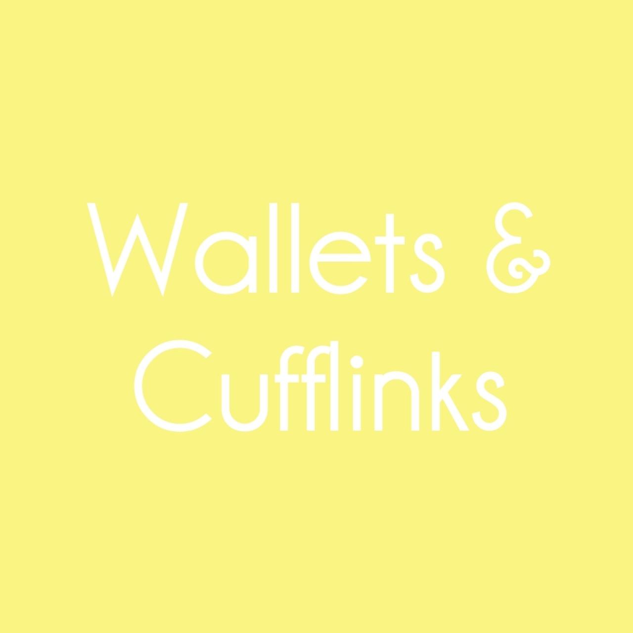 Wallets & Cufflinks