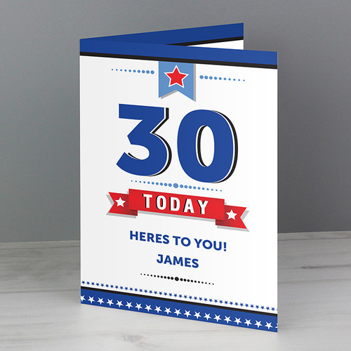 Personalised Birthday Star Card From Something Personal