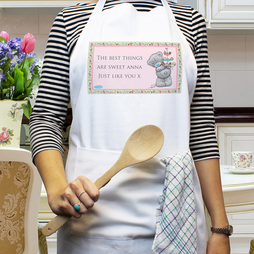 Personalised Me To You Cupcake Apron From Something Personal
