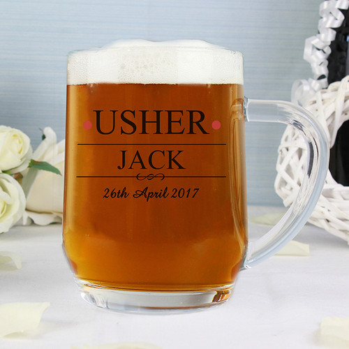 Personalised Usher Tankard From Something Personal