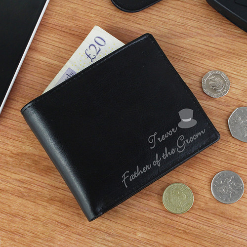 Personalised Top Hat Wallet From Something Personal