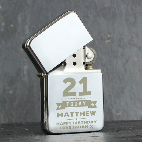 Personalised Birthday Star Lighter from Something Personal
