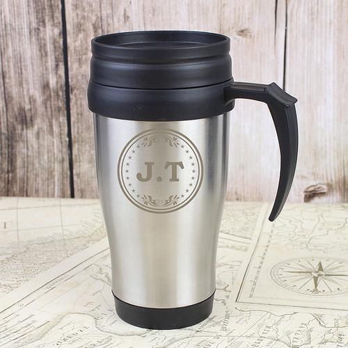 Personalised Monogram Travel Mug From Something Personal