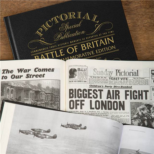 Personalised Battle Of Britain Book From Something Personal