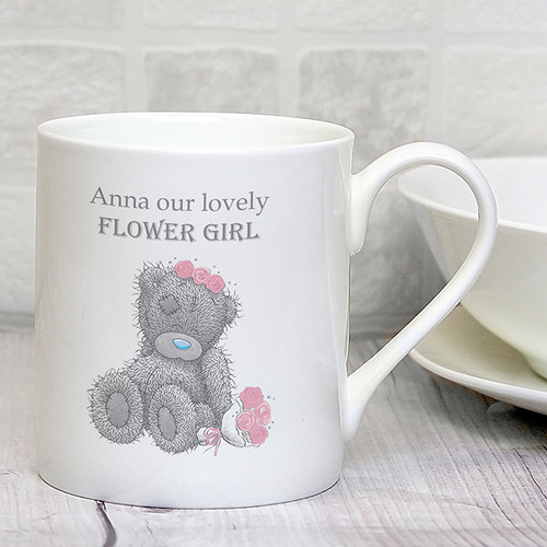 Personalised Me To You Girls Wedding Mug From Something Personal