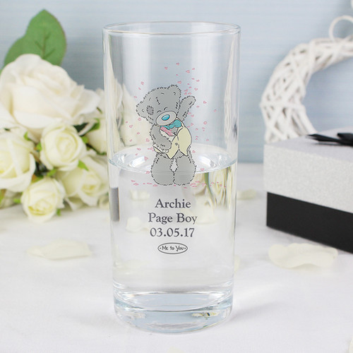 Personalised Me To You Wedding Male Hi Ball Glass From Something Personal