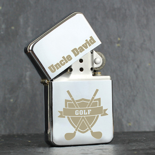 Personalised Golf Lighter From Something Personal