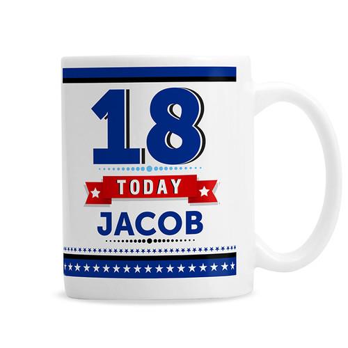 Personalised Birthday Star Mug From Something Personal