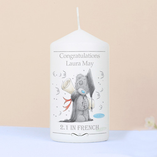 Personalised Me To You Graduation Candle From Something Personal