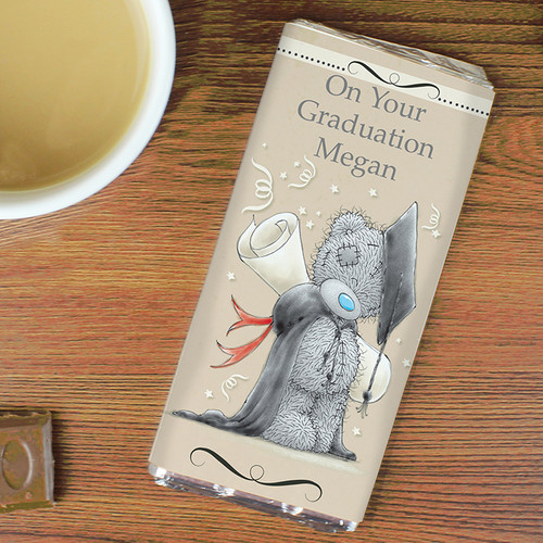 Personalised Me To You Graduation Chocolate Bar From Something Personal