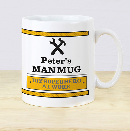 Personalised Man At Work Mug From Something Personal