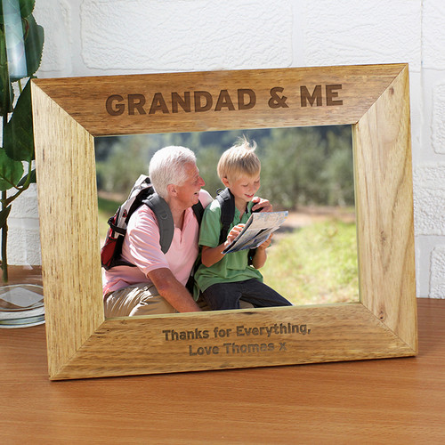 Personalised Grandad & Me Photo Frame From Something Personal