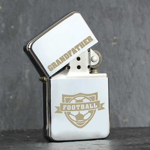 Personalised Football Lighter From Something Personal