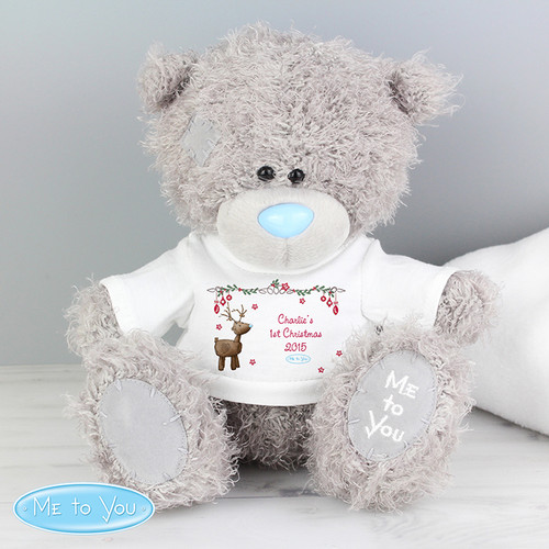 Personalised Me To You Bear With Reindeer T-Shirt From Something Personal