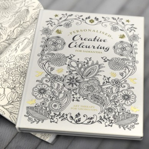 Personalised Creative Colouring Book From Something Personal
