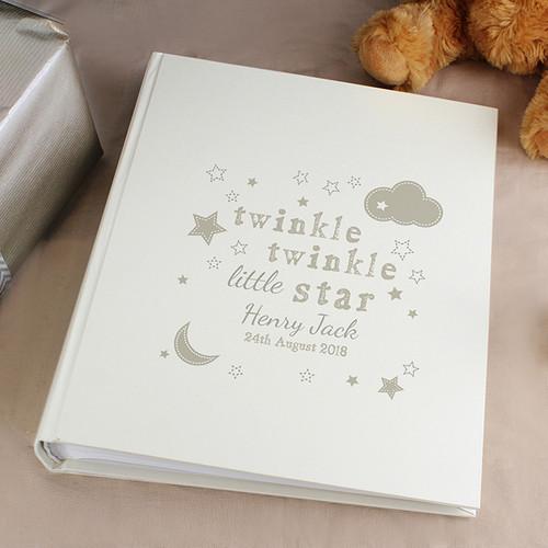 Personalised Twinkle Twinkle Album With Sleeves From Something Personal