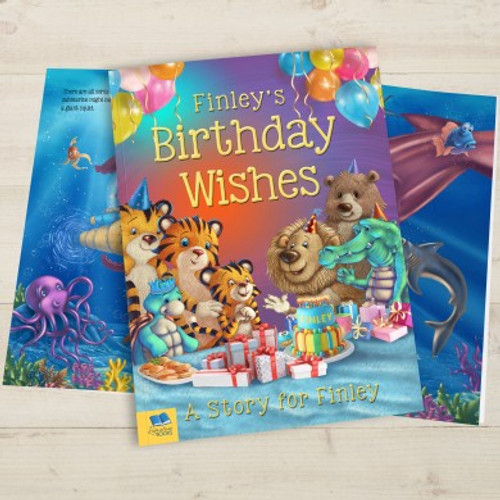Personalised Birthday Wishes Story Book From Something Personal