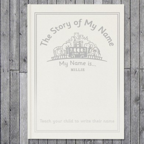 Personalised The Story Of My Name Embossed Classic Hardback From Something Personal