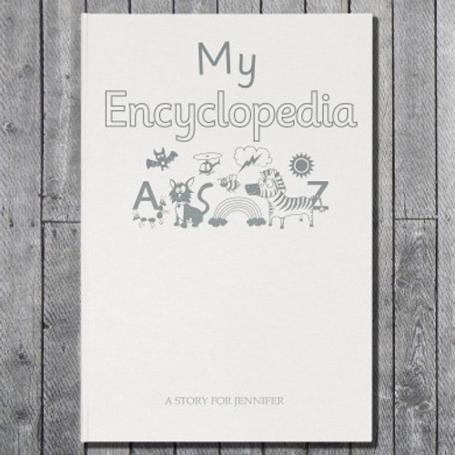 Personalised My Personalised Encyclopedia Embossed Classic Hardcover From Something Personal
