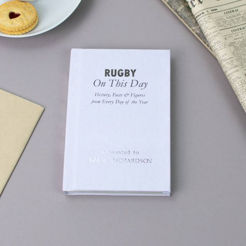 Personalised Rugby On This Day Book From Something Personal