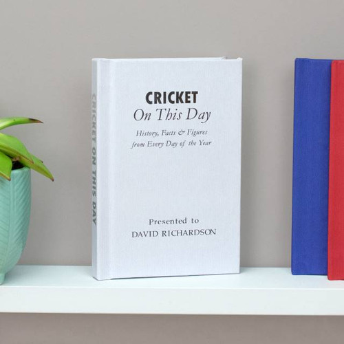 Personalised Cricket On This Day Book From Something Personal