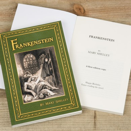 Personalised Frankenstein Novel From Something Personal