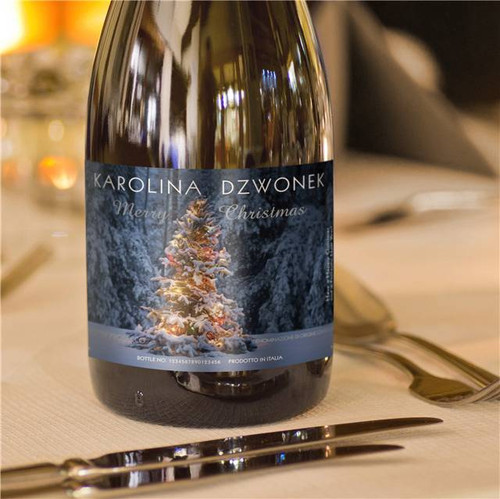 Personalised Christmas Prosecco From Something Personal