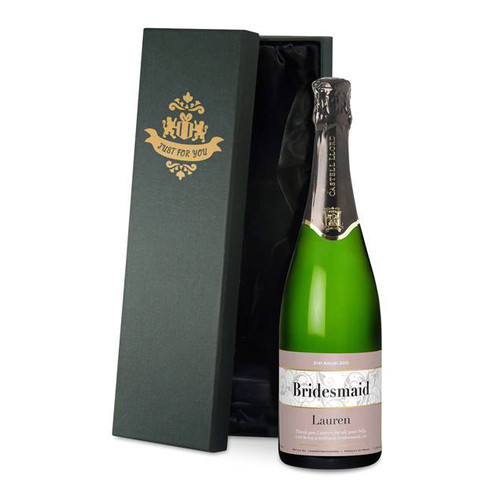 Personalised Wedding Labels Cava From Something Personal