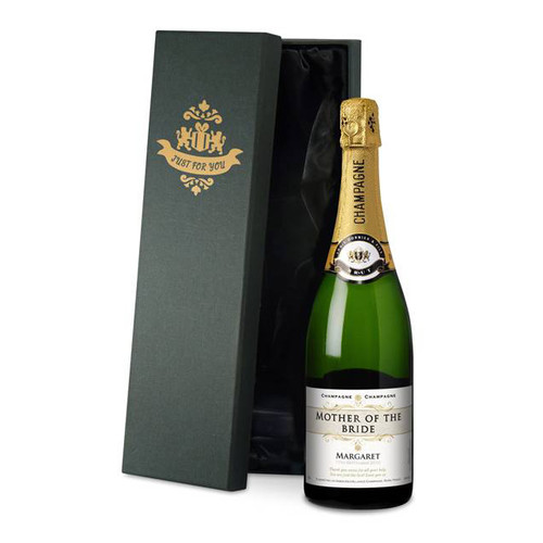 Personalised Wedding Role Champagne From Something Personal