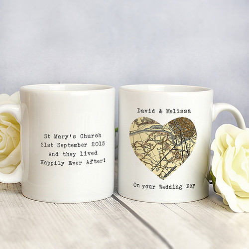 Personalised 1896 - 1904 Map Home Mug From Something Personal
