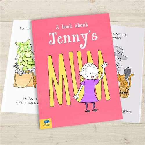 Personalised My Mum Story Book From Something Personal