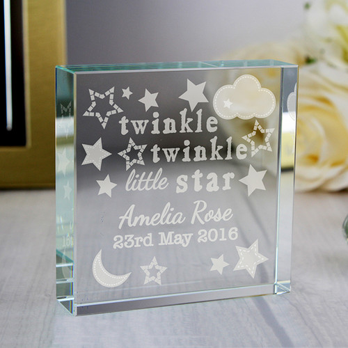 Personalised Twinkle Twinkle Crystal Token From Something Personal