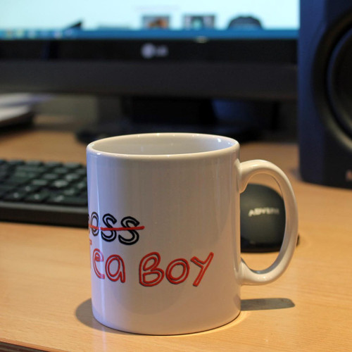 Tea Boy mug from www.somethingpersonal.co.uk