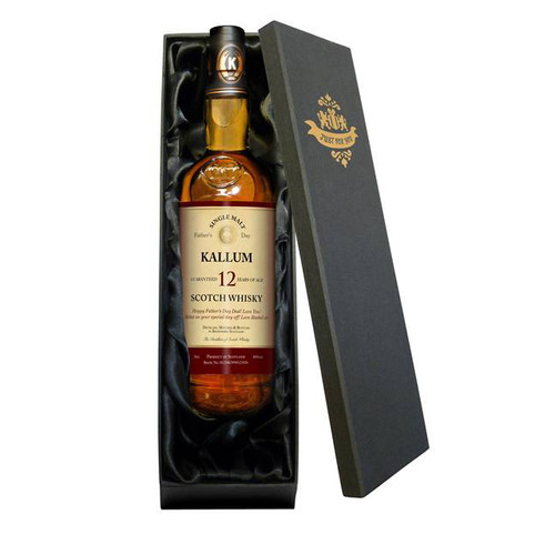 Personalised Single 12 Year Old Malt Occasions Whisky From Something Personal
