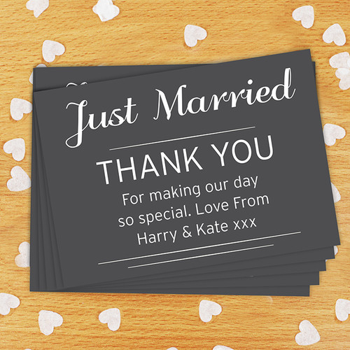 Personalised Classic Wedding Postcards Pack Of 24 From Something Personal