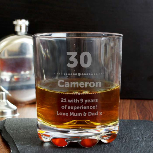 Personalised Birthday Star Tumbler From Something Personal