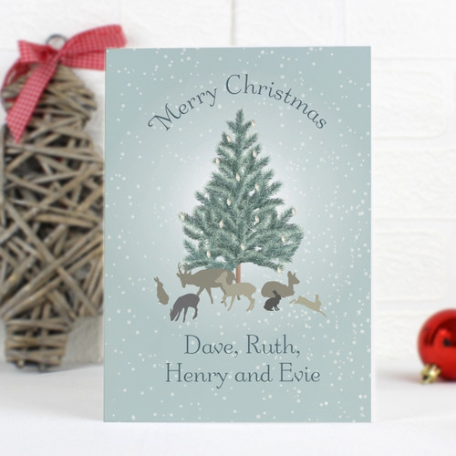 Personalised A Winter's Night Card From Something Personal