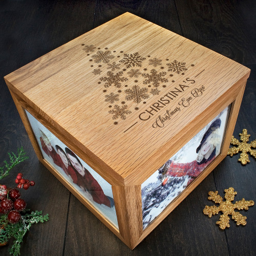 Personalised Christmas Memory Box Tree Design From Something Personal